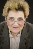 Retrato da mulher sênior Foto de Stock
