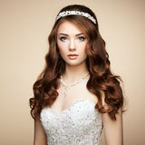 Retrato da mulher sensual bonita Imagens de Stock Royalty Free