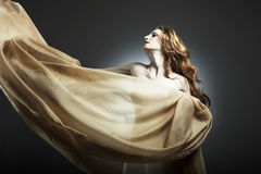 Retrato da mulher sexual nova foto de stock royalty free