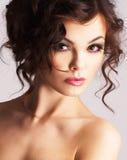 Retrato da mulher 'sexy' fotografia de stock royalty free