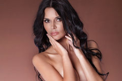 Retrato da mulher 'sexy' imagens de stock