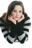 Retrato da mulher 'sexy' bonita Imagem de Stock Royalty Free
