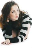 Retrato da mulher 'sexy' bonita Fotografia de Stock Royalty Free