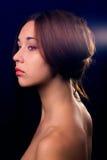 Retrato da mulher triguenha Foto de Stock Royalty Free