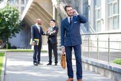Retrato da multi equipe étnica do negócio Fotografia de Stock Royalty Free