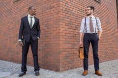 Retrato da multi equipe étnica do negócio Imagens de Stock