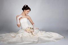 Retrato da noiva Fotos de Stock