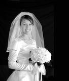 Retrato da noiva Fotografia de Stock