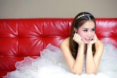 Retrato da noiva bonita Foto de Stock Royalty Free