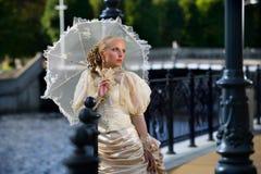 Retrato da noiva bonita nova Foto de Stock