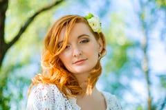 Retrato da noiva macia bonita - foco macio Fotos de Stock Royalty Free