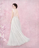 Retrato da noiva no estúdio romântico Imagens de Stock