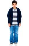 Retrato da posição do menino Fotos de Stock