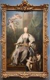 Retrato da rainha Caroline imagem de stock royalty free