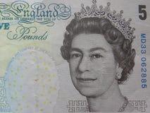Retrato da rainha Elizabeth II foto de stock