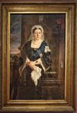 Retrato da rainha Victoria fotografia de stock