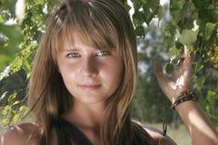 Retrato da rapariga Foto de Stock
