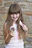 Retrato da rapariga Fotografia de Stock Royalty Free