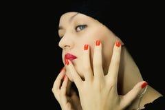 Retrato da rapariga Fotografia de Stock