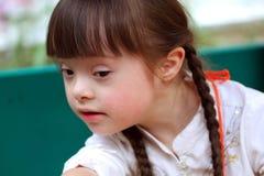 Retrato da rapariga bonita. Foto de Stock Royalty Free