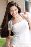 Retrato da rapariga bonita. Imagem de Stock Royalty Free