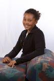 Retrato da rapariga de sorriso foto de stock royalty free