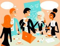 Retrato da reunião da unidade de negócio Foto de Stock