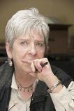 Retrato da senhora Fotografia de Stock Royalty Free