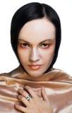 Retrato da senhora nova Imagem de Stock Royalty Free