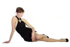 Retrato da sensualidade e da beleza Foto de Stock