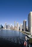 Retrato da skyline da cidade Imagens de Stock Royalty Free