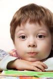Retrato da tração das crianças fotografia de stock royalty free