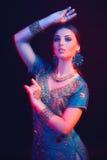 Retrato das belas artes do indiano bonito da forma imagens de stock royalty free