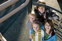 Retrato das crianças no parque Imagem de Stock Royalty Free