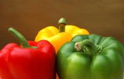 Retrato das pimentas Imagem de Stock