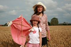 Retrato das raparigas imagens de stock royalty free