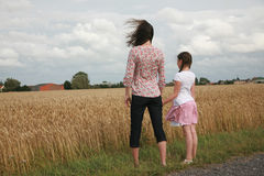 Retrato das raparigas Imagem de Stock Royalty Free