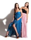 Retrato das raparigas bonitas Fotografia de Stock Royalty Free