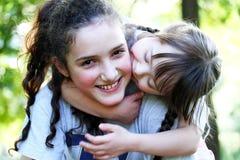 Retrato das raparigas bonitas Fotos de Stock Royalty Free
