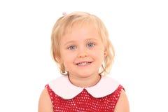 Retrato de 4 años de la muchacha Fotos de archivo