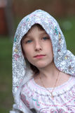 Retrato de adolescente Fotos de archivo