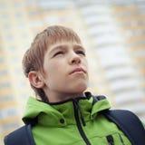 Retrato de adolescente, al aire libre Fotografía de archivo libre de regalías