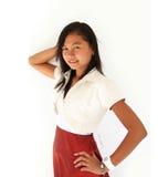 Retrato de adolescente asiático Imagen de archivo libre de regalías