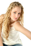 Retrato de adolescente glamoroso Fotografia de Stock Royalty Free