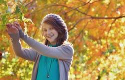 Retrato de adolescente hermoso Imagen de archivo libre de regalías