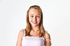 Retrato de   adolescente joven Fotografía de archivo libre de regalías