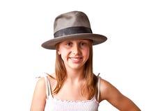 Retrato de   adolescente joven Imagen de archivo