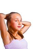 Retrato de   adolescente joven Imagenes de archivo