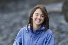 Retrato de adolescente joven Fotos de archivo libres de regalías