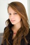 Retrato de adolescente lindo adorable. Foto de archivo libre de regalías